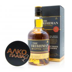 The Irishman Founders Reserve 7 years 0.7 в п/у виски Айришмен Фаундерс Резерв 7 лет 0.7 л. в п/у