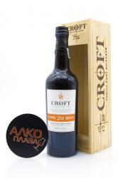 Porto Croft Tawny 20 Years Old 0.75l Wooden Box Портвейн Крофт Тони 20 лет 0.75 л. в дер./уп.