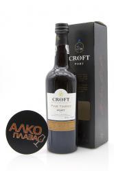 Porto Croft Tawny 0.75l Gift Box Портвейн Крофт Тони 0.75 л. в п/у