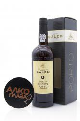 Calem Special Reserve 0.75l Gift Box портвейн Калем Резерва 0.75 л. в п/у