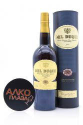 Sherry Gonzalez Byass Del Duque Amontillado 30 years old 0.75l Херес Амонтильядо Гонзалес Биас 30 лет 0.75л