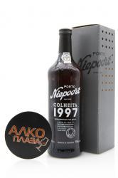 Niepoort Colheita 1997 0.75l Gift Box портвейн Нипоорт Колейта 1997 0.75 л. в п/у