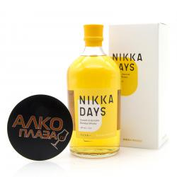 Whisky Nikka Days 0.7l gift box виски Никак Дейз 0.7л в п/у