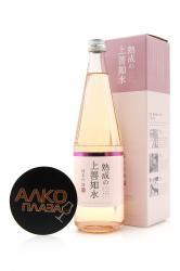 Sake Jozen Ginjo Mizunogotoshi gift box 0.72l Саке Джунмай Гинджо Мизуноготоши в подарочной упаковке 0.72л