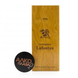 Lafontan Millesime 1996 0.7l Wooden Box арманьяк Лафонтан Миллезиме 1996 0.7 л. в дер./уп.