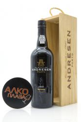 Porto Andresen Vintage 2003 0.75l Wooden Box Портвейн Андресен Винтаж 2003 0.75 л. в дер./уп.