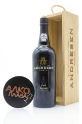 Porto Andresen Vintage 2005 0.75l Wooden Box Портвейн Андресен Винтаж 2005 0.75 л. в дер./уп.