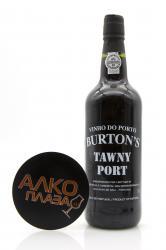 Porto Burton`s Tawny 0.75l Портвейн Бартон`с Тони 0.75 л.