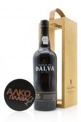 Porto Dalva Vintage 2008 0.75l Wooden Box Портвейн Далва Винтаж 2008 0.75 л. в дер./уп.