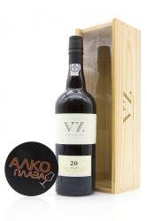Porto Van Zellers 20 Years Old 0.75l Wooden Box Портвейн Ван Зеллерс 20 лет 0.75 л. в дер./уп.