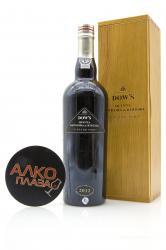 Dow`s Vintage 2012 0.75l Wooden Box Портвейн Доуз Винтаж 2012 0.75 л. в дер./уп.