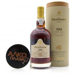 Porto Grahams Tawny 30 Years Old 0.75l in Tube Портвейн Грэмс Тони 30 лет 0.75 л. в тубе