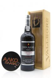Porto Vista Alegre Vintage 2000 0.75l in Wooden Box Портвейн Виста Алегре Винтаж 2000 0.75 л. в дер./уп.