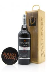 Porto Vista Alegre Vintage 2003 0.75l in Wooden Box Портвейн Виста Алегре Винтаж 2003 0.75 л. в дер./уп.
