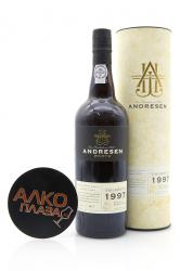 Porto Andresen Colheita 1997 0.75l In Tube Портвейн Андресен Колейта 1997 0.75 л. в тубе