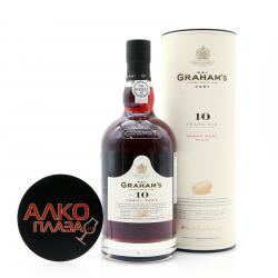 Porto Grahams 10 Years Old 0.75l in Tube Портвейн Грэмс 10 лет 0.75 л. в тубе