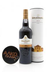 Porto Grahams Late Bottled Vintage 2012 0.75l in Tube Портвейн Лейт Ботлд Винтаж 2012 0.75 л. в тубе