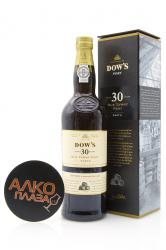 Porto Dow`s Tawny 30 Years Old 0.75l Gift Box Портвейн Доуз Тони 30 лет 0.75 л. в п/у