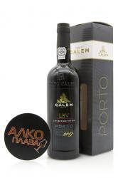 Porto Calem LBV 2011 0.75l Gift Box портвейн Калем ЛБВ 2011 0.75 л. в п/у