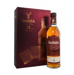 Glenfiddich 15 years - виски Гленфиддик 15 лет 40% / 0.75 л