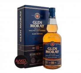 Glen Moray Elgin Heritage 18 years old Шотландский Виски Глен Морей Сингл Молт Элгин Эритаж 18 лет в п/у