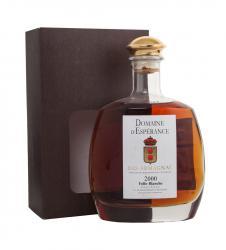 Domaine d Esperance Blanche 2000 Арманьяк Фолль-Бланш Домен д`Эсперанс 2000г