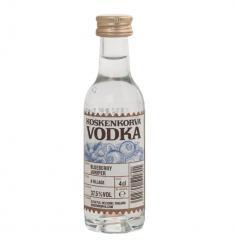 Koskenkorva Blueberry Juniper 0.04l водка Коскенкорва со вкусом черники и можжевельника 0.04 л.