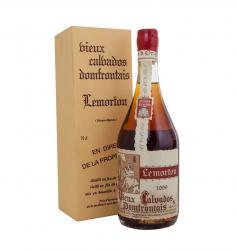 Calvados Lemorton Vintage 1999 0.7l with gift box Кальвадос Лемортон Винтаж 1999 0.7л в п/у