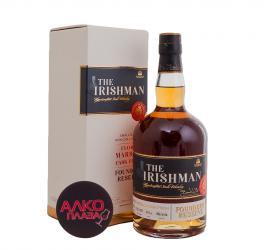 Whisky Irishman Founders Reserve Caribbean Cask Finish 0.7l gift box Виски Зе Айришмен Фаундерс Резерв Карибиан Каск Финиш 0.7л в п/у