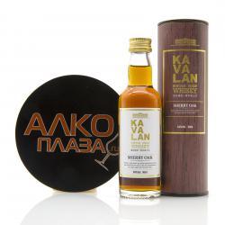 Kavalan Sherry Oak 0.05l in tube виски Кавалан Шерри Оак 0,05л в тубе