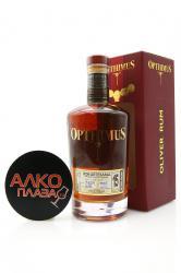 Rum Opthimus 15 years 0.7l Ром Оптимус Оливер 15 год в п/у 0.7л