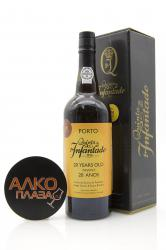 Quinta do Infantado 20 Anos 0.75l Gift Box портвейн Квинта до Инфантадо 20 Anos 0.75 л. в п/у