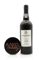 Porto Andresen Vintage 1999 0.75l Wooden Box португальский портвейн Андресен Винтаж 1999