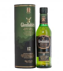 Glenfiddich 12 years old - виски Гленфиддик 12 лет 0.375 л