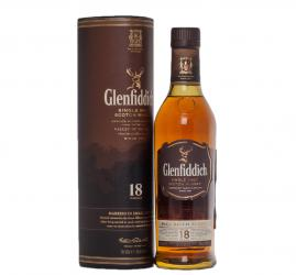 Glenfiddich 18 years - виски Гленфиддик 18 лет 0.5 л