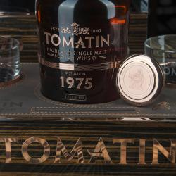 Tomatin 1975 gift box with glasses - виски Томатин 1975 0.7 л п/у с бокалами