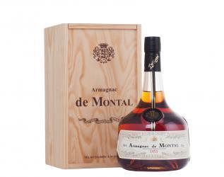 Armagnac Bas Armagnac de Montal 1953 years Арманьяк Баз Арманьяк де Монталь 1953 года