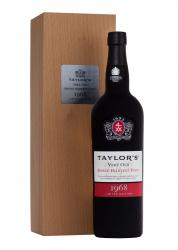 Taylors Very Old Single Harvest Port 1968 Портвейн Тэйлор Вери Олд Сингл Харвест Порт 1968
