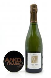 Fleury Extra Brut Millesime 2002 0.75l Шампанское Флери Экстра Брют Миллезимэ 2002 0.75 л.