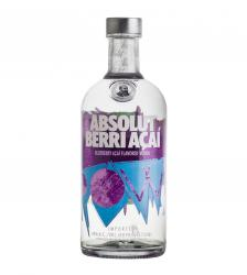 Absolut Berri Acai 700 ml водка Абсолют Берри Асаи 0.7 л.