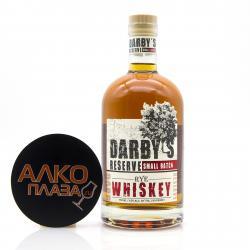 Whiskey Darbys Reserve Rye 0.75l Виски Дарби Резерв Рай 0.75л