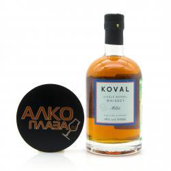 Whisky Koval Millet 0.5l Виски Коваль Просо 0.5л
