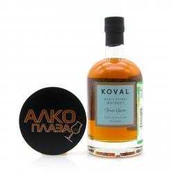 Whisky Koval Four Grain 0.5l Виски Коваль Четыре злака 0.5л
