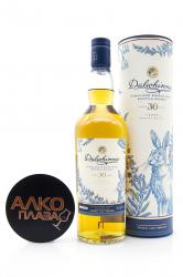 Whisky Dalwhinnie 30 years old 0.7l in tube виски Далвини 30 лет 0.7л в тубе
