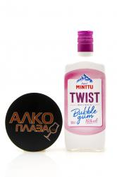 Minttu Twist Bubble Gum 0.5l Ликер Минтту Твист Бабл Гам 0.5 л.