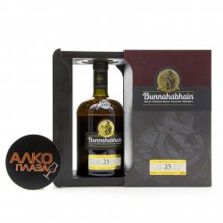 Bunnahabhain 25 years wood box - виски Буннахавэн Эйджид 25 лет 0.7 л в д/у