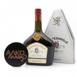 Larressingle Napoleon 0.7l Gift Box Арманьяк Ларесенгль Наполеон 0.7 л. в п/у