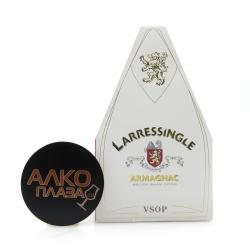Larressingle VSOP 0.7l Gift Box Арманьяк Ларесенгль ВСОП 0.7 л. в п/у