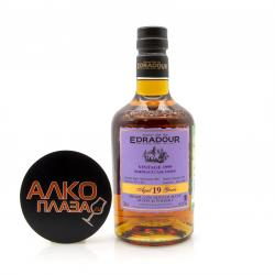 Edradour 19 years old Bordeaux Cask Finish 1999 in Tube - виски Эдрадур 19 лет Бордо Каск Финиш 1999 0.7 л в тубе