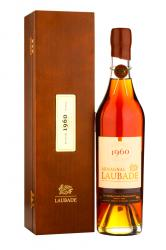 Armagnac Chateau de Laubade 1960 0.5l wood box Арманьяк Шато де Лобад 1960г 0,5л в д/у